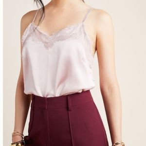 NWT Anthropologie Mirabel Lace Cami Size Large